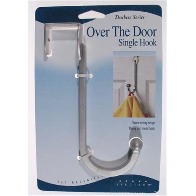 Satin Nickel Duchess Over the Door Single Hook
