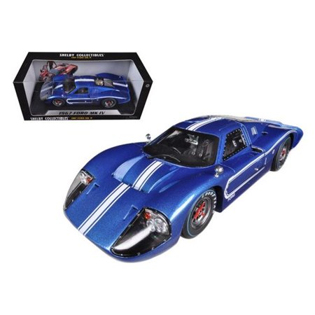 Shelby Collectibles SC420 1967 Ford GT MK IV Red 1-18 Diecast Car Model - image 1 of 1