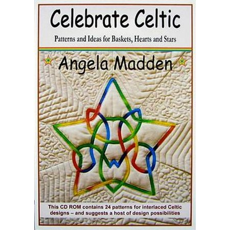 Celebrate Celtic: Patterns and Ideas for Quilting Baskets Hearts and Stars: Patterns and Ideas for Baskets Hearts and Stars [CD-Rom] (CD-... (Halloween Basket Pattern)
