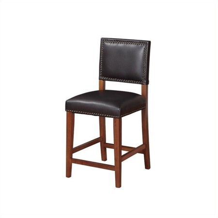 Remarkable Riverbay Furniture 24 Faux Leather Counter Stool In Black Forskolin Free Trial Chair Design Images Forskolin Free Trialorg
