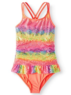 c3f42691b76 Product Image Ruffled One-Piece Swimsuit (Little Girls, Big Girls & Big  Girls Plus)