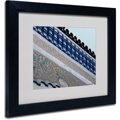 """Trademark Fine Art """"Rooftop"""" Matted Framed Art by Miguel Paredes"""