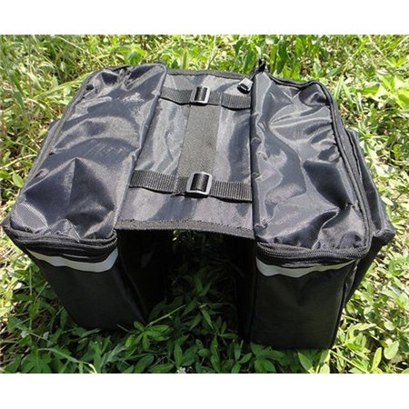 25L Cycling Bicycle Rear Tail Seat trunk Bag Pannier Pouch Bag Rack Bike Storage Bag Cycling Accessory - image 5 of 7