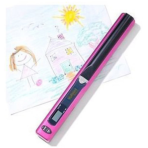 VuPoint Solutions PDS-ST441SP-VP Magic Wand II Handheld Scanner, Sparkle Pink
