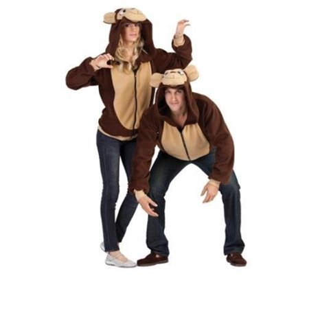 Morgan Monkey Hoodie- Adt Sml - Joseph Morgan Halloween