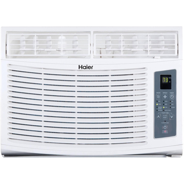 Haier HWE12XCR-L 12,000 BTUs Air Conditioner, White