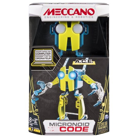 Meccano Erector   Micronoid Code A C E  Programmable Robot Building Kit