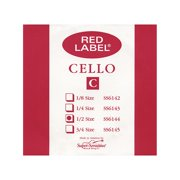 Super Sensitive Red Label Cello C String 1/2