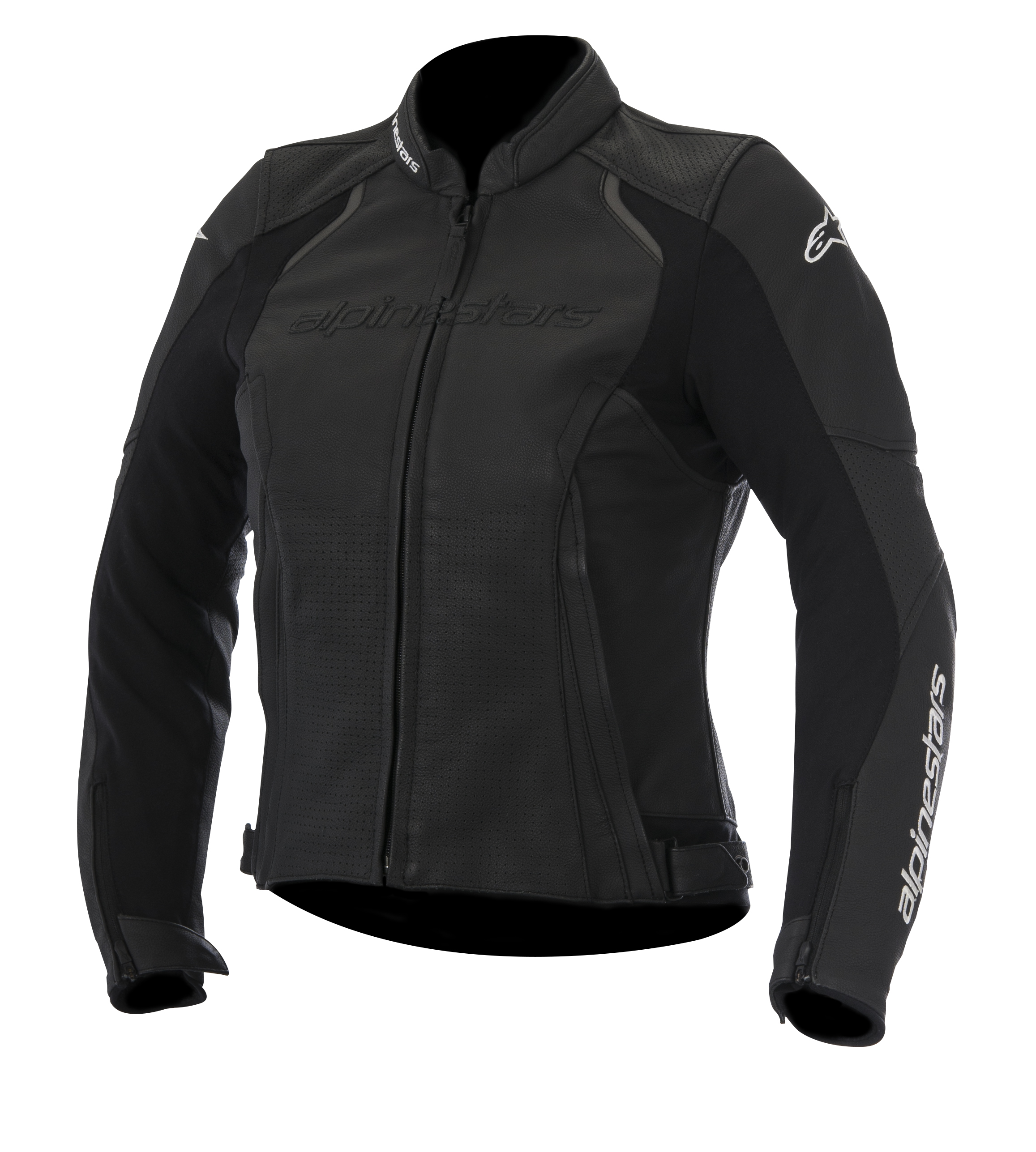 Alpinestars Stella Devon Air Womens Leather Jacket Black
