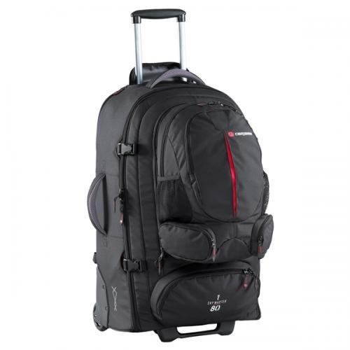 Caribee 5069181BK Sky Master 80 Wheeled Travel Pack