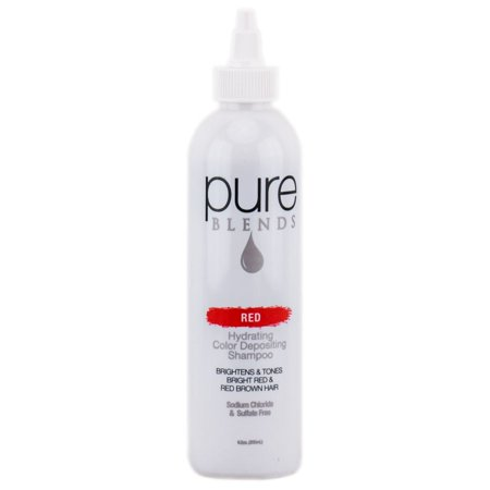 Pure Blends Hydrating Color Depositing Shampoo - Red - Size : 8.5