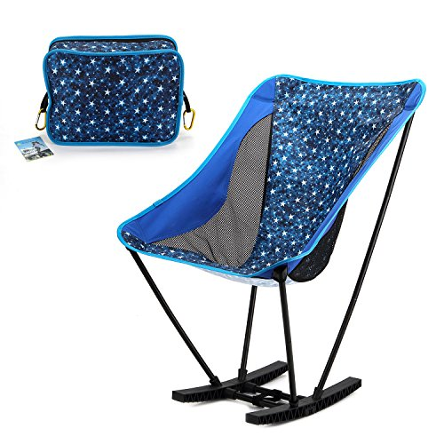 Yahill Portable Ultralight Collapsible Moon Leisure Campi...