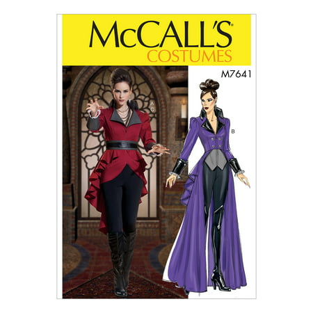 McCall's Sewing Pattern Misses' Jacket Costume with Belt-6-8-10-12-14