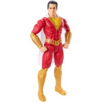 DC Comics Shazam! 12-Inch Scale Action Figure with Cloth Cape