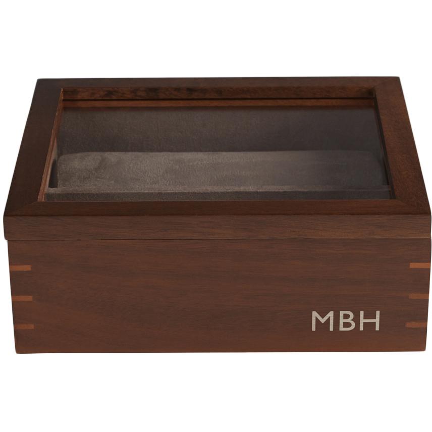 Personalized RedEnvelope Men's Wood Watch Casse