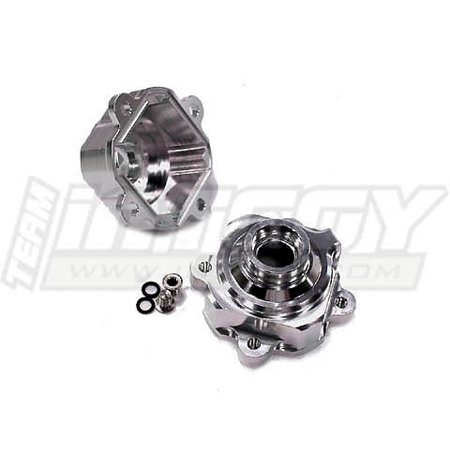 Integy RC Toy Model Hop-ups T6856SILVER Alloy Internal Diff Case for HPI Baja 5B (Version 1.0 Only) (Hpi Diff Case)