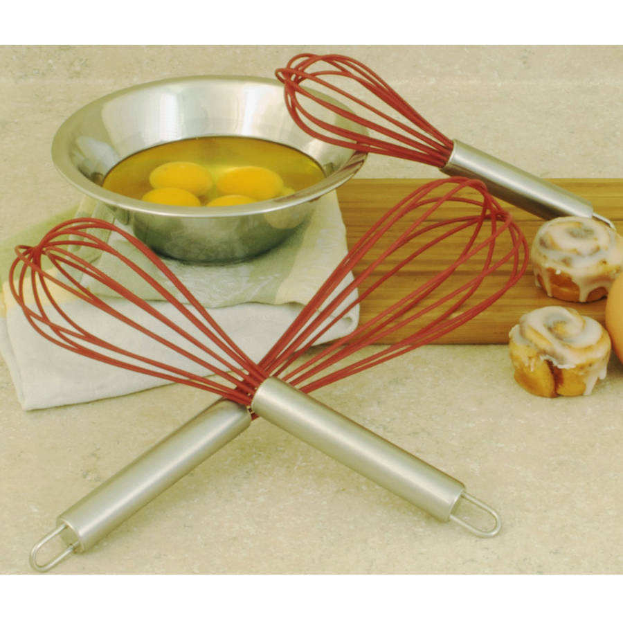 COOK PRO Multi-Colored Silicone Whisk