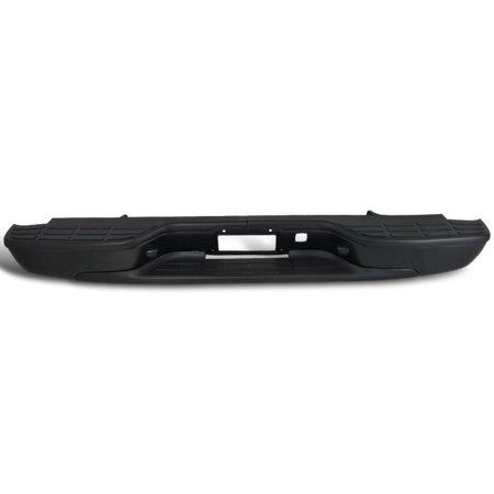 - Spec-D Tuning 1999-2006 Chevy Silverado Fleetside Black Rear Bumper Step + Top Pad 99 00 01 02 03 04 05 06
