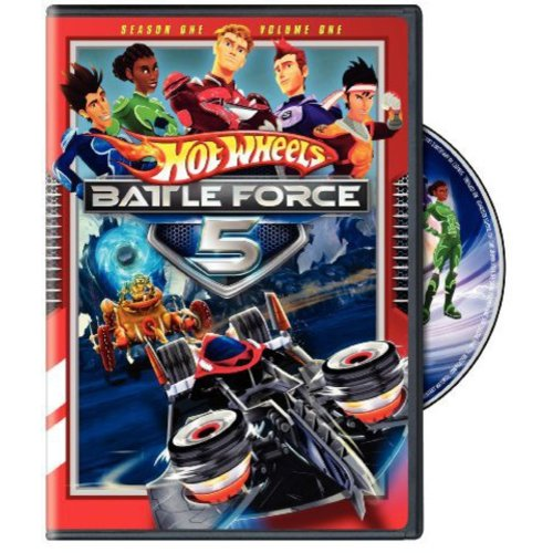 Hot Wheels Battle Force 5: Season 1 - The Complete First Volume (Full Frame)