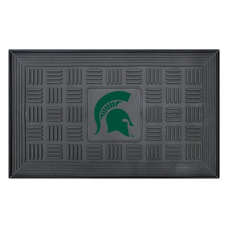 Michigan State University Medallion Door (Michigan State Basketball Rugs)