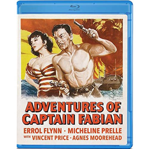 Adventures Of Captain Fabian (Blu-ray) (Full Frame) OLIBROF1040