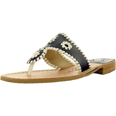 450198623b5d7d Jack Rogers Women s Palm Beach Flat Leather W Ankle-High Leather ...