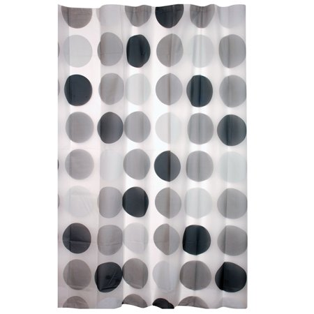 Enigma Printed Peva Shower Curtain Mod Circle