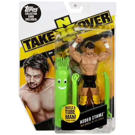Tube Map (WWE Wrestling NXT Takeover Hideo Itami Action Figure [Build A Tube Man!])