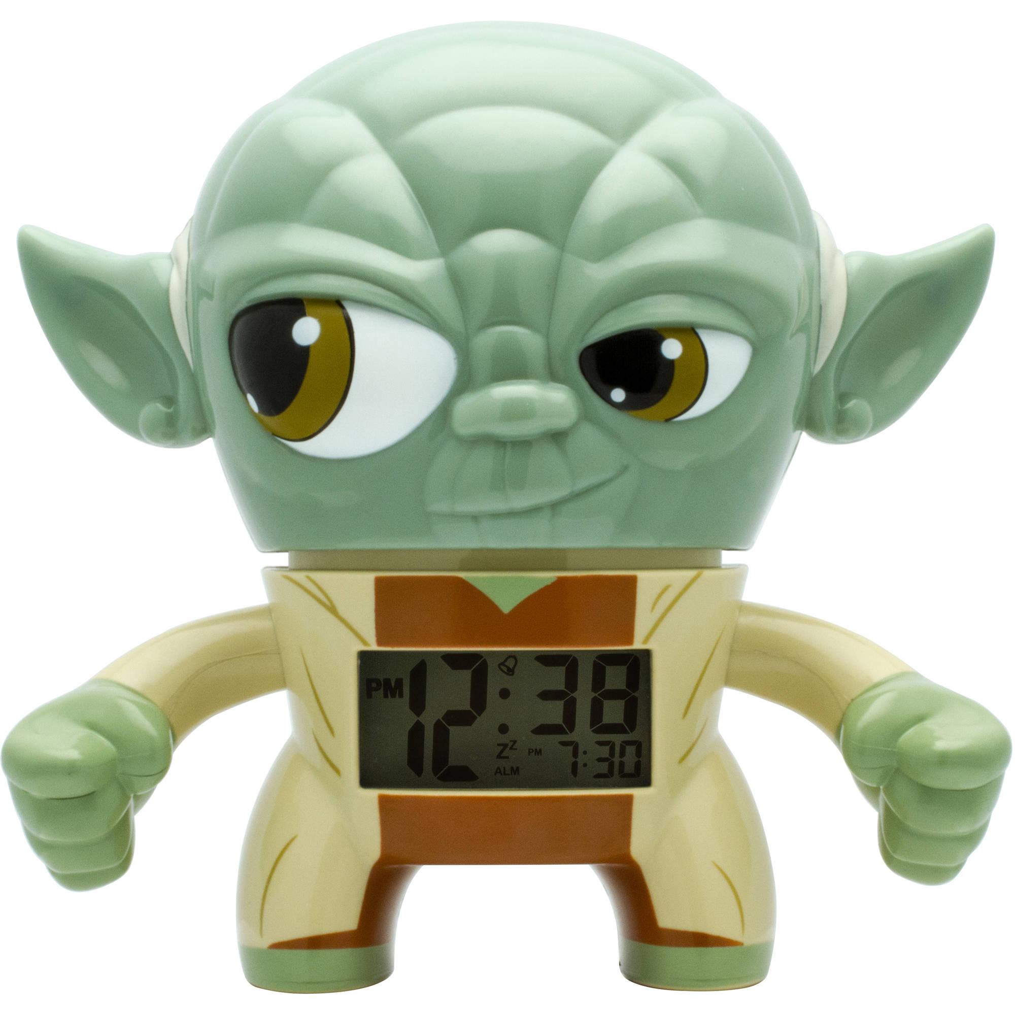 BulbBotz™ Star Wars™ Yoda™ Light-Up Alarm Clock (7.5 inch)