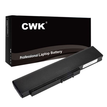 Satellite U300 Series Laptop - CWK Long Life Replacement Laptop Notebook Battery for Toshiba Satellite Pro U300 Series U305-S7477 U305-S5107 U305-S5087 U305-S2812 U300 Equium L100 L100-186 L20 L20-197 L20-198