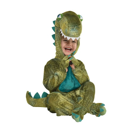 Dinosaur Halloween Costume Realistic (Dinosaur Halloween Costume for Infants, 12-24 Months, with Attached)