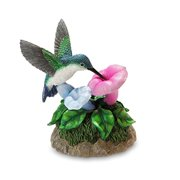 Hummingbird Figurine Multi-Colored