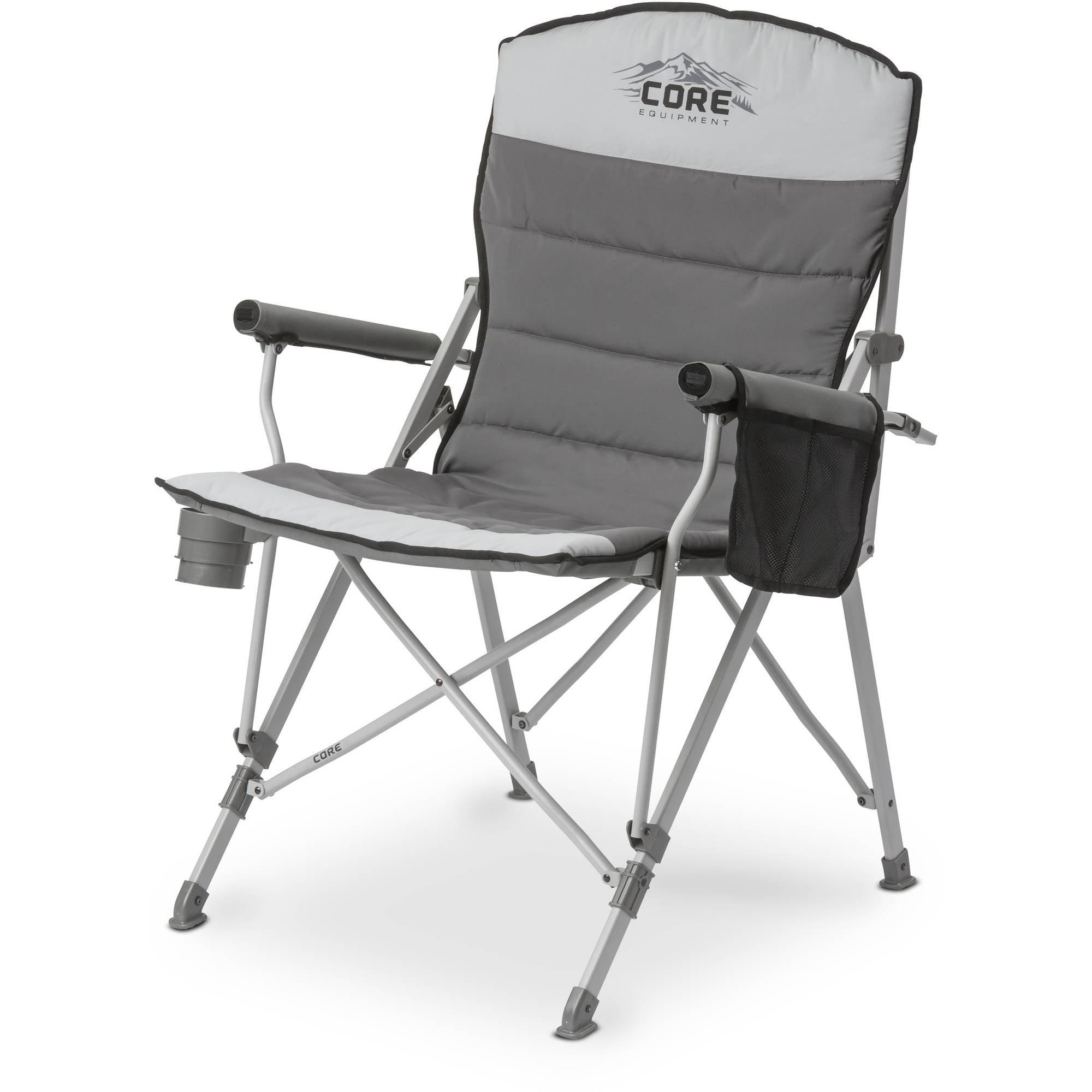 CORE Equipment Padded Hard Arm Chair