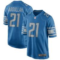 Ameer Abdullah Detroit Lions Nike Game Player Jersey - Blue