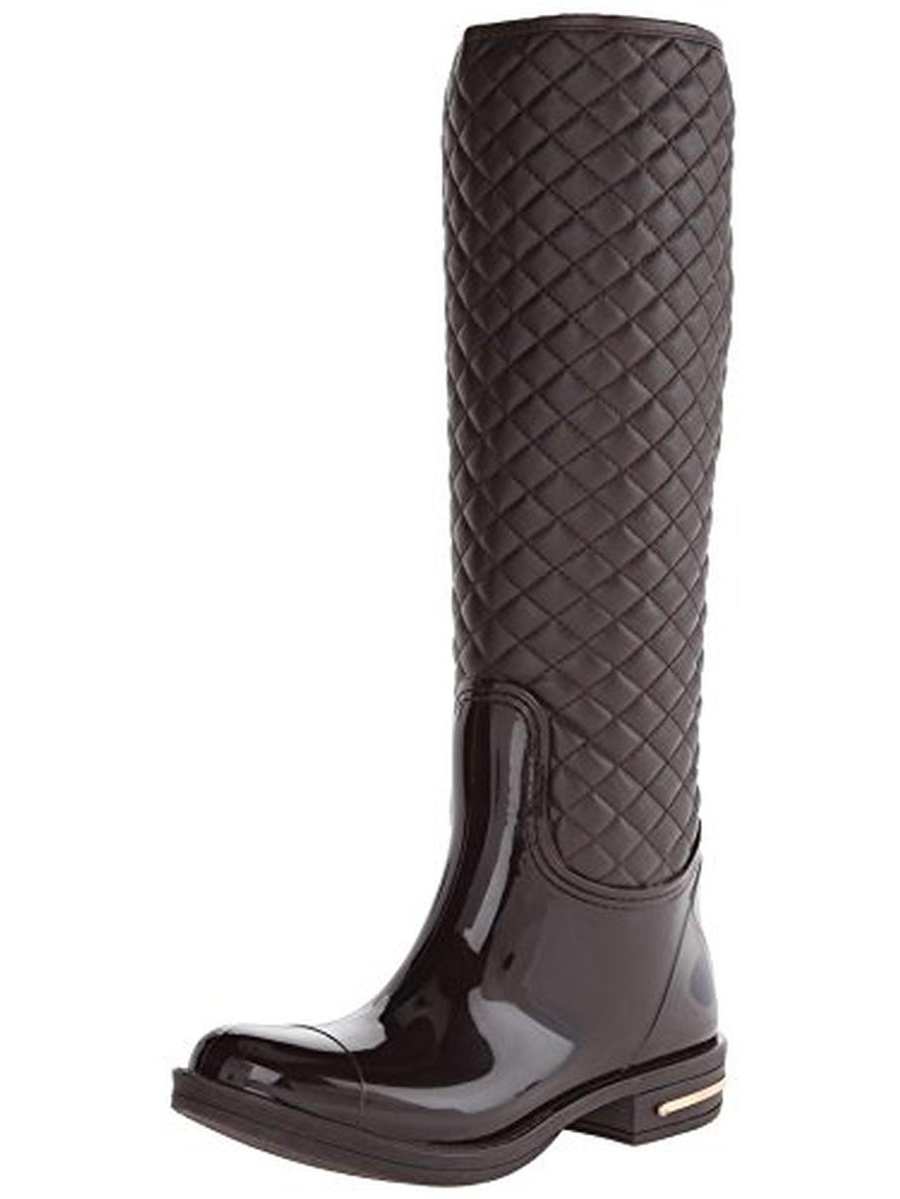Nomad Womens Quilted Faux Leather Rain Boots by Nomad