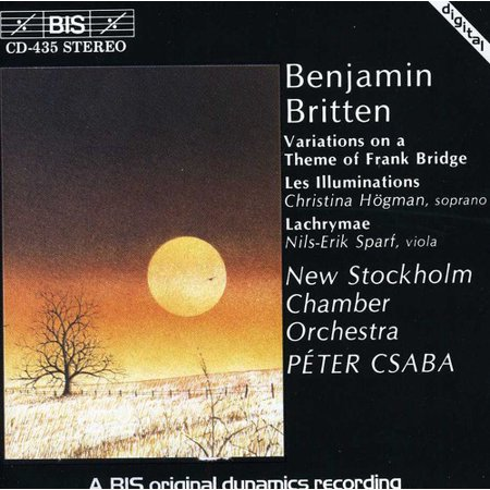 Frank Bridge - Frank Bridge Theme Variation