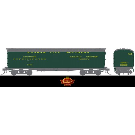 Broadway Limited 1829 Ho Kansas City Southern 536  Express Reefer  1404