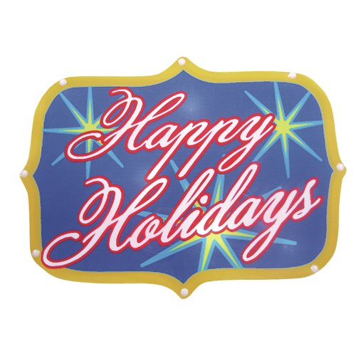 Brite Star Happy Holidays Show Sign 20 Light LED Light by Brite Star