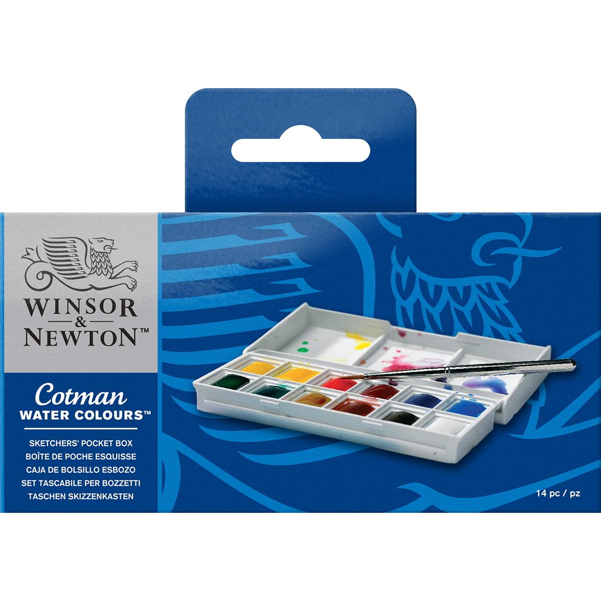 Winsor & Newton Cotman Watercolor - Sketchers Pocket Box