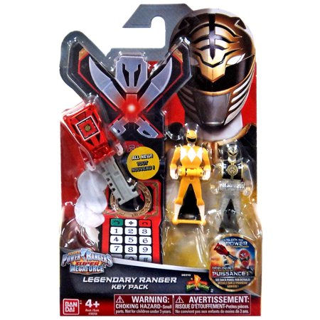 Power Rangers Super Megaforce Legendary Ranger Key Pack [Mighty Morphin] - Power Ranger Megaforce Party Supplies