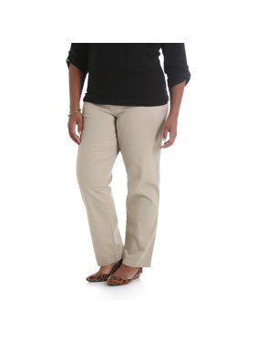 Lee Riders Women's Plus Size Simply Comfort Twill Pant