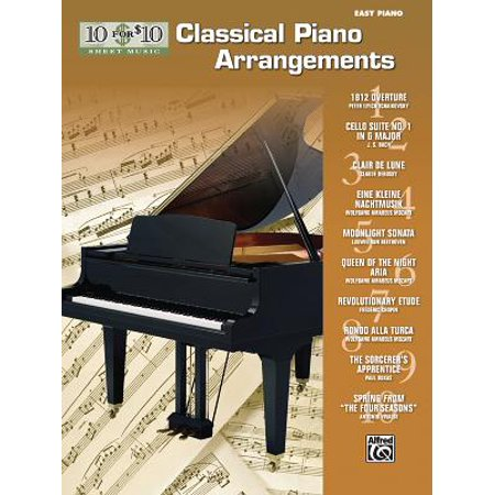 10 for 10 Sheet Music Classical Piano Arrangements : Piano (Vintage Piano Sheet Music)