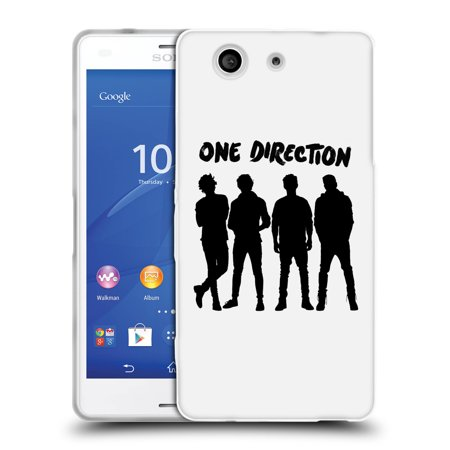 Official One Direction Group Silhouette Soft Gel Case For Sony Phones 1