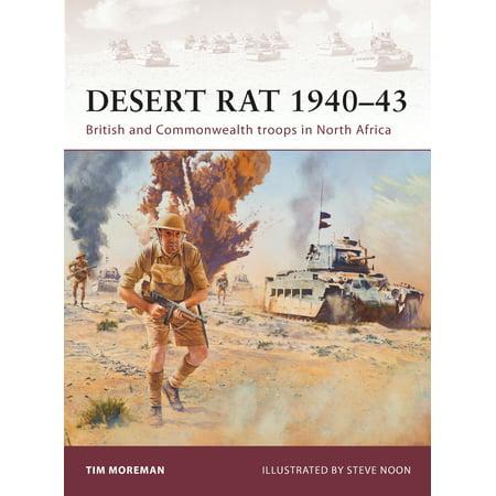 Desert Rat 1940–43 : British and Commonwealth troops in North (British Desert Rat)
