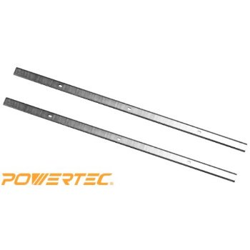 powertec hss planer blades for central machinery 12