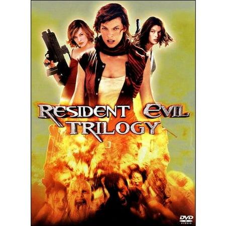 Resident Evil / Resident Evil: Apocalypse / Resident Evil: Extinction (Widescreen)