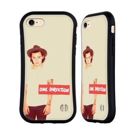 1d Protector Cover (OFFICIAL ONE DIRECTION HARRY FILTER HYBRID CASE FOR APPLE IPHONES PHONES)
