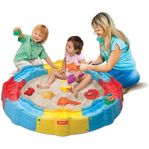 Fisher-Price Little People Build 'n Play Sandbox