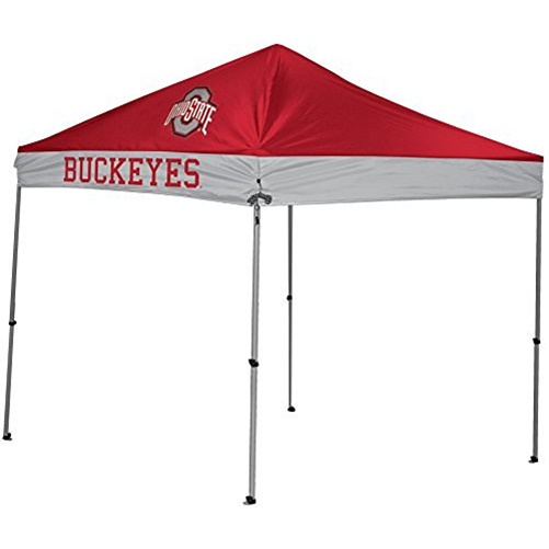 NCAA Ohio State Buckeyes 9' x 9' Straight Leg Canopy by Rawlings