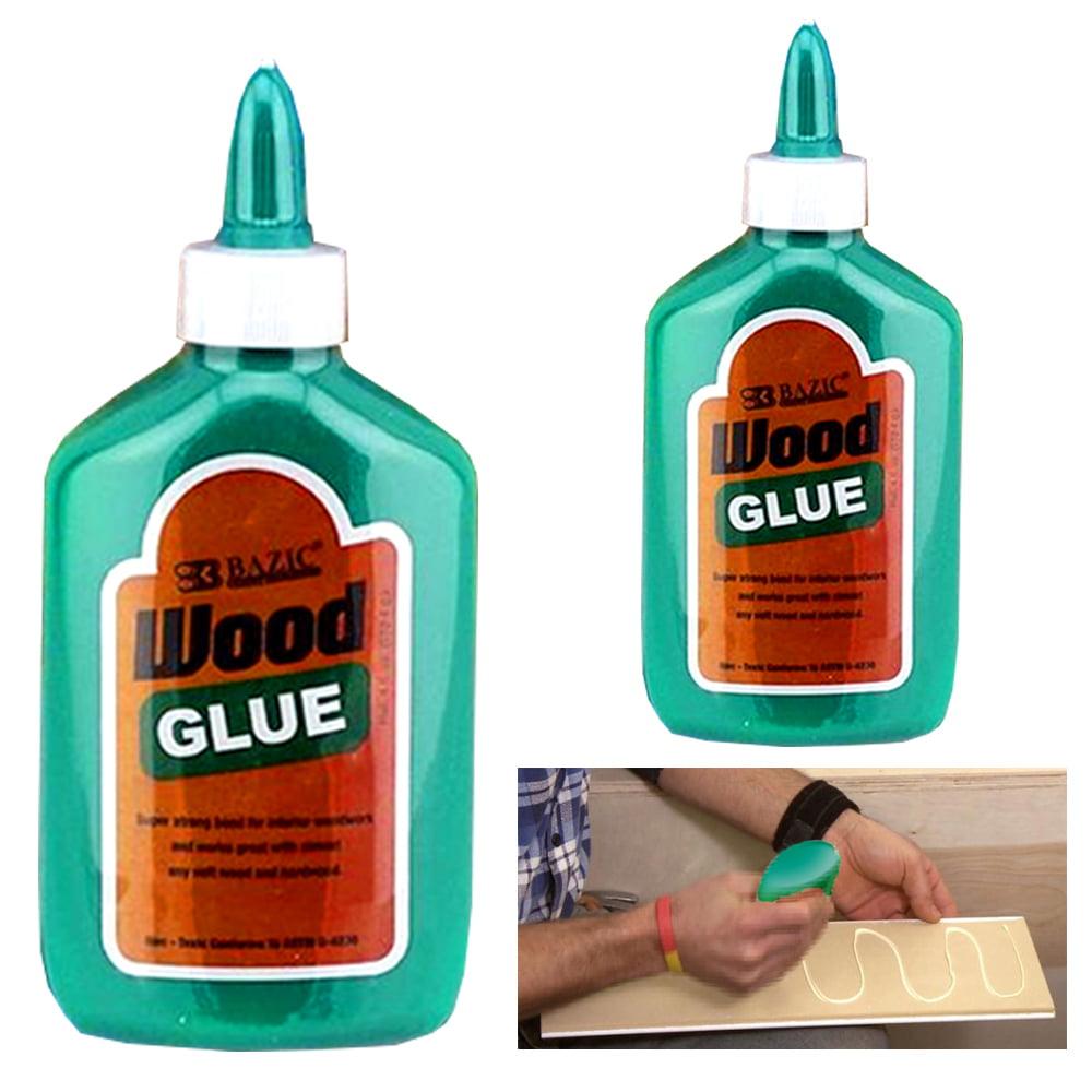 2 Pc Wood Glue Soft Hardwood Strong Waterproof General Purpose Adhesive Bonding